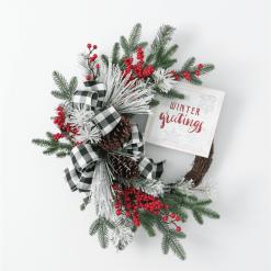 Pine Berry Wreath