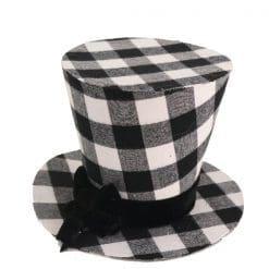 Snowman Black Hat